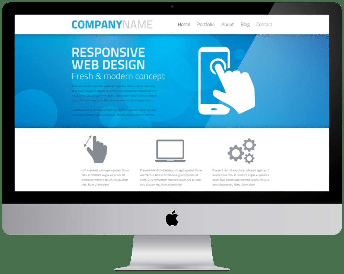 Realizzazione siti web responsive: Desktop