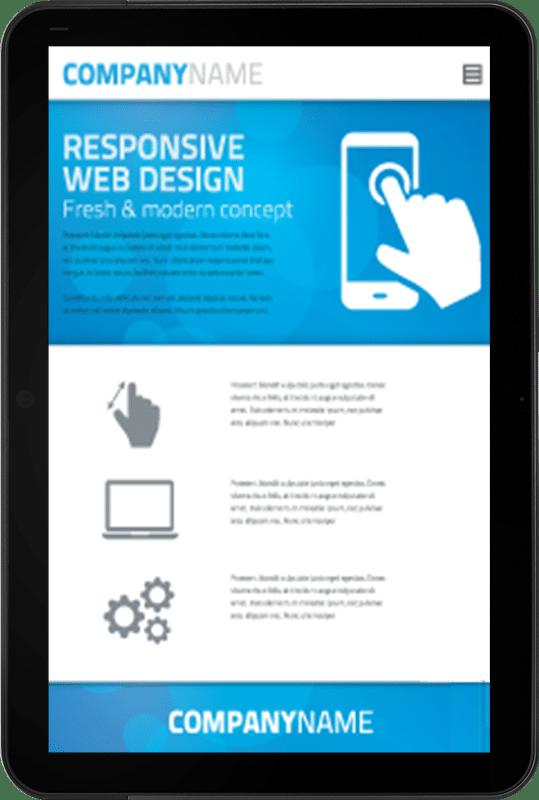 Realizzazione siti web responsive: Tablet