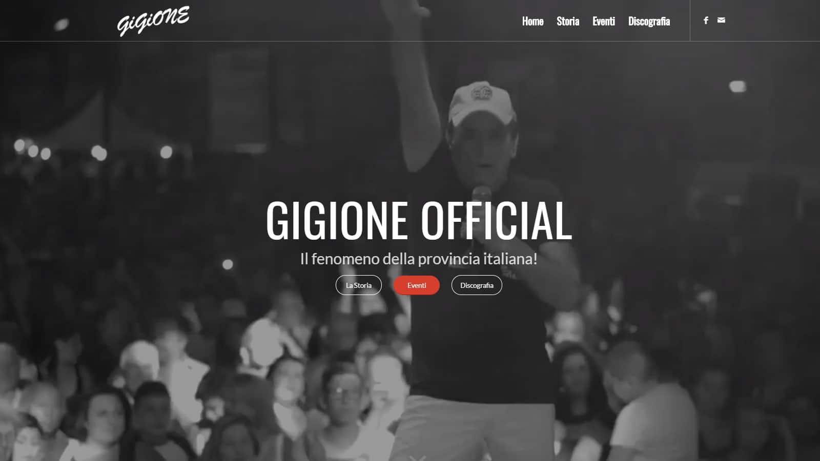 GIGIONE OFFICIAL - Sito Ufficiale di Gigione